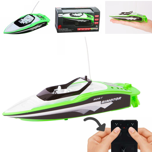 RC Mini Boat Remote Control Race Float Pools Lakes Kids Adult Gift Float Water