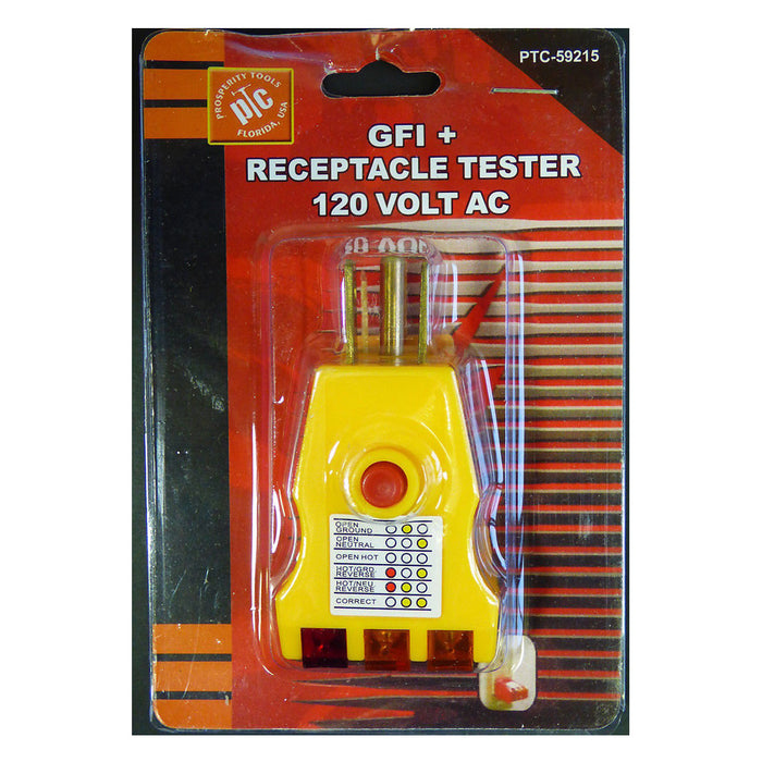 20 GFI Electric Outlet Plug Receptacle Circuit Tester Analizer Home Electrical