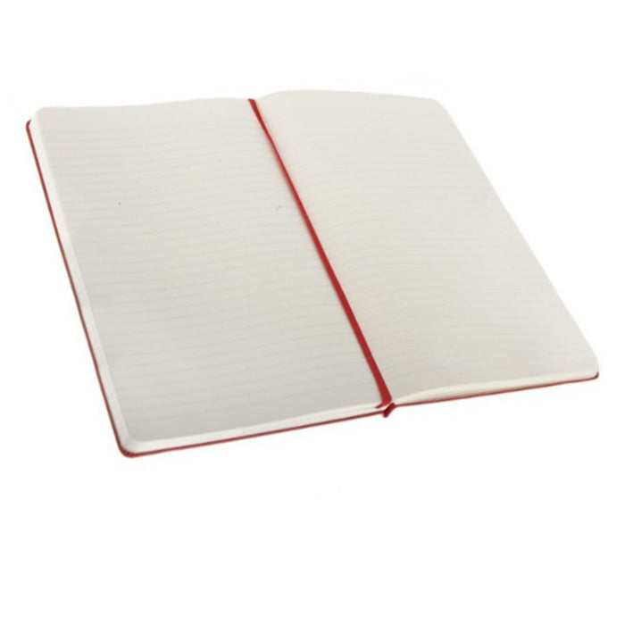 "2 Pc Journal Notebook Hardcover Lined Ruled Diary Book Writing Red 8.5"" x 6.5"""