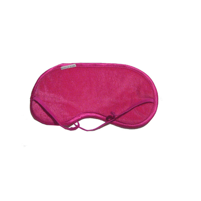 Pink Travel Eye Mask Sleep Soft Padded Shade Cover Rest Relax Sleeping Blindfold