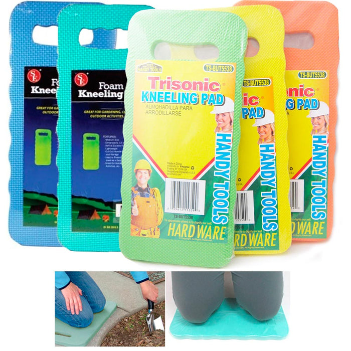 SET OF 3 KNEELING PAD CUSHION HOME GARDEN PROTECTS KNEE FOAM SEAT OUTDOOR NEW !!