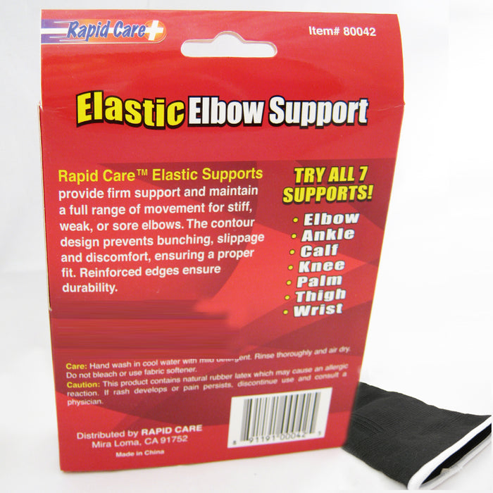 1 Elastic Elbow Brace Support Sleeve Medicine Compression Tennis Pain Guard New