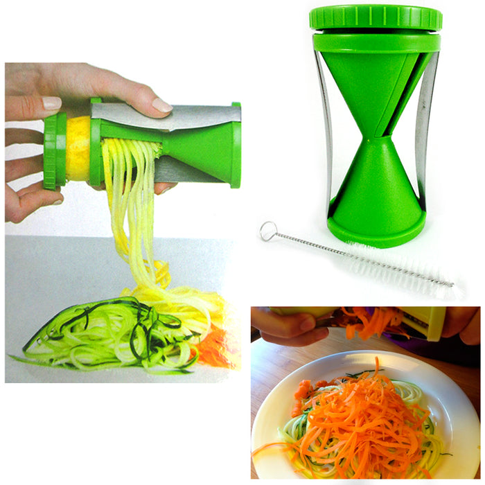 1 Spiral Vegetable Slicer Chopper Shredder Spiralizer Veggie Pasta Maker Fruit