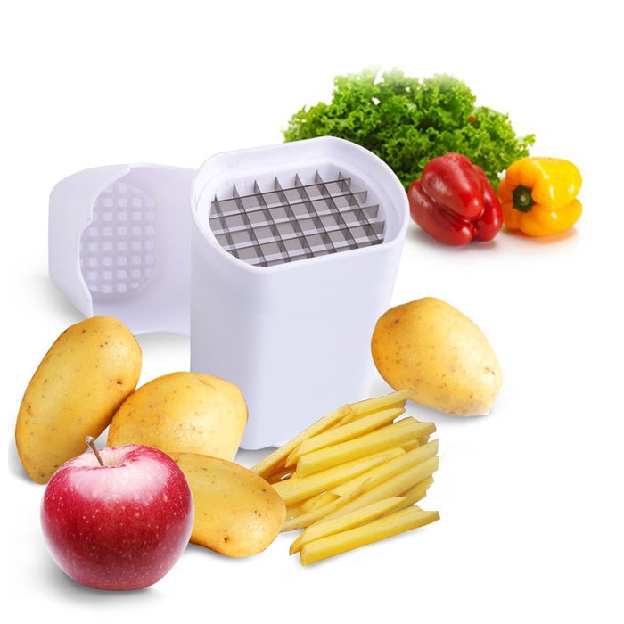 Amazing French Fries One Step Chopper Cutter Healthy Fresh Vegetables Cut Slicer