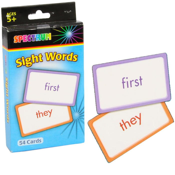 1 Pack Sight Words Flash Cards Beginning Reading Letter Learning Activities New