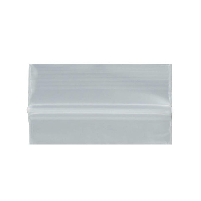 100 Clear Reclosable Plastic 2-Mil Bags Poly Jewelry Zipper Baggies 1 1/2 x1 1/2