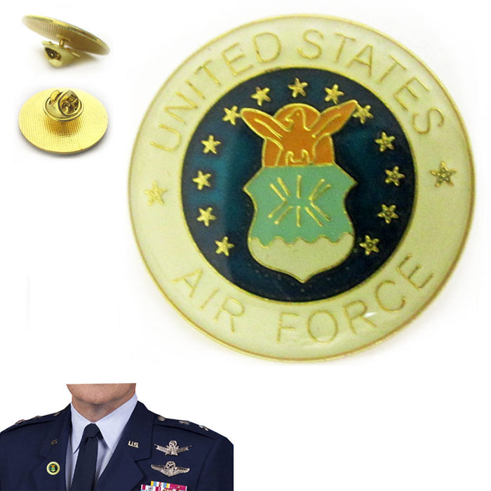 United States Air Force Pin Logo Security Police Military Veteran Hat Lapel  Pin
