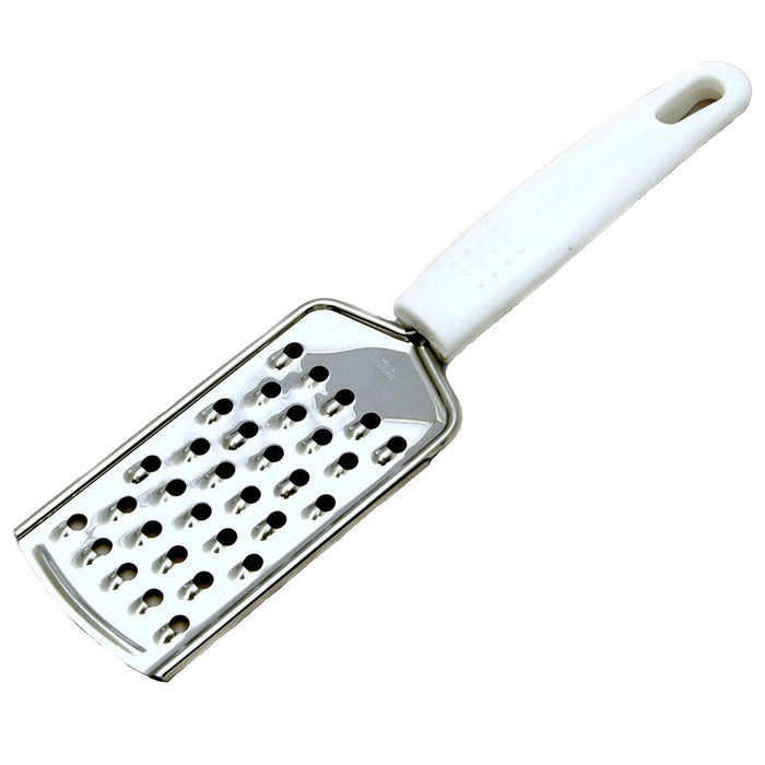 1 X Stainless Steel Coarse Grater Soft Grip Handle Cutting Slicing Knife 9.5""