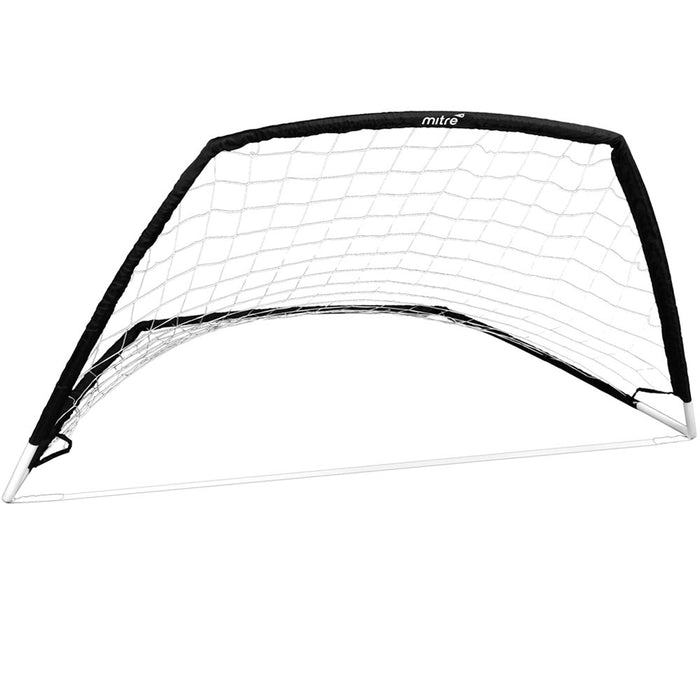 Mitre Easy Flex Soccer Goal Kick Ball Net Pop Up Practice Foldable Portable Game