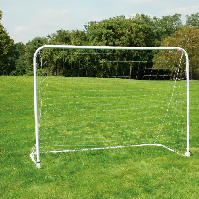 Soccer Goal Mitre Fast Fold Heavy Duty Kick Ball Net Foldable Portable Game New