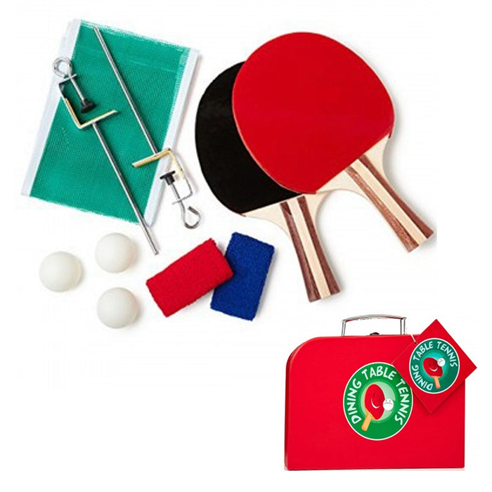 1 Dining Table Tennis Ping Pong Net Set Exercise Indoor Outdoor School Sports