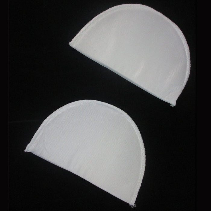 3 Pair Foam Non Slip White Shoulder Pad Bra Strap Cushion Relief Comfort Lady