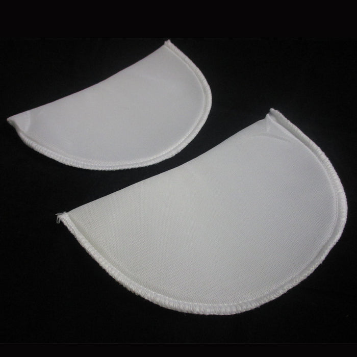 2 pc Foam Non Slip White Shoulder Pad Bra Strap Cushion Pain Relief Comfort Lady