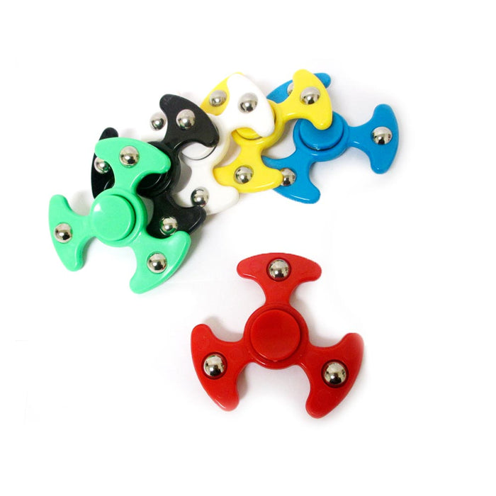 6 Pc Lot Fidget Spinner UFO Space Metal Ball EDC Hand Finger Spinner Focus ADHD