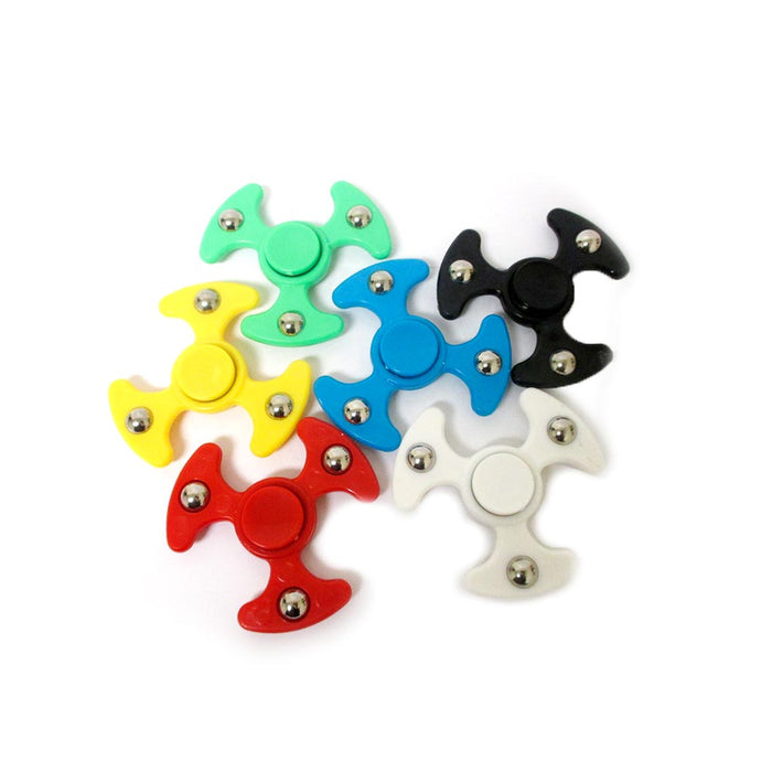1 Fidget Hand Spinner Top Toys Metal Plastic EDC Desk Tri-Finger Spiner Dreamed
