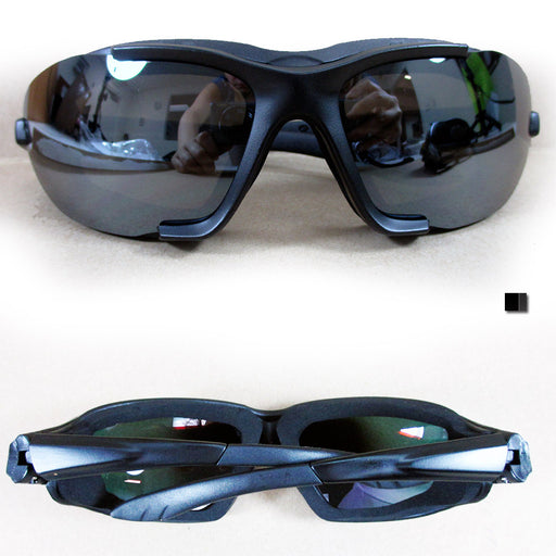 1 Pair Chopper Padded Wind Resistant Sunglasses Motorcycle Rinding Goggles Sport
