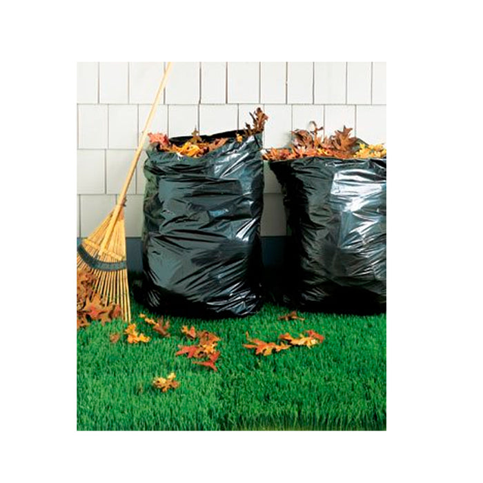 1 Box 5Pc Lawn Leaf Trash Bags 39 Gallon Capacity Strong Grass Garden Multi Use