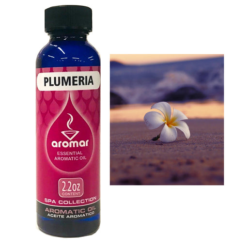1 Plumeria Flower Scented Fragrance Oil Aroma Therapy Diffuse Air Burning 2.2 Oz