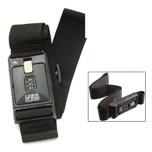 Combination Locking Travel Belt  Luggage Suitcase Secure TSA Lock Strap 3 Digit
