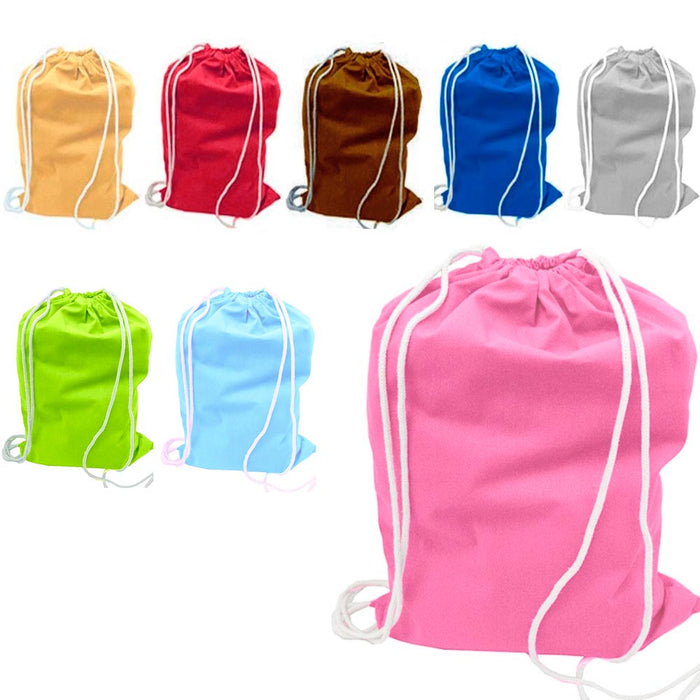 1 Large Nylon Laundry Duffle Bag Durable Wash Dirty Clothes Hamper Reusable Tote