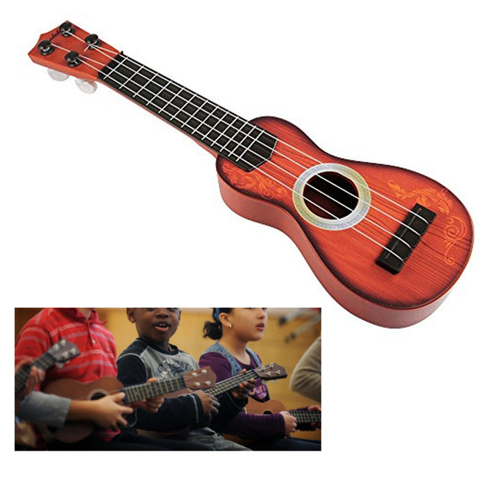 1 Beginner Classical Ukulele Guitar Educational Musical Instrument Toy for Kids