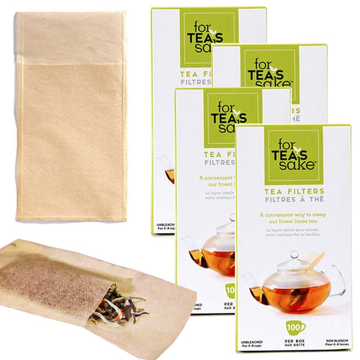 400 Unbleached Tea Filter Bags Disposable Biodegradable for Loose Leaf Sachet