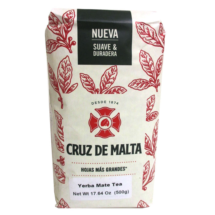 Yerba Mate Cruz de Malta x 500 g Argentina Diet Loss Herbal Bags Slim 1.1 lb New