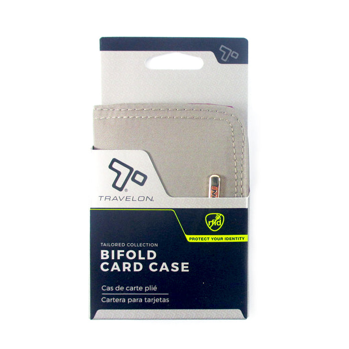 1 Travelon RFID Wallet Credit Cards Case Holder Bifold Wallet Zipper Business