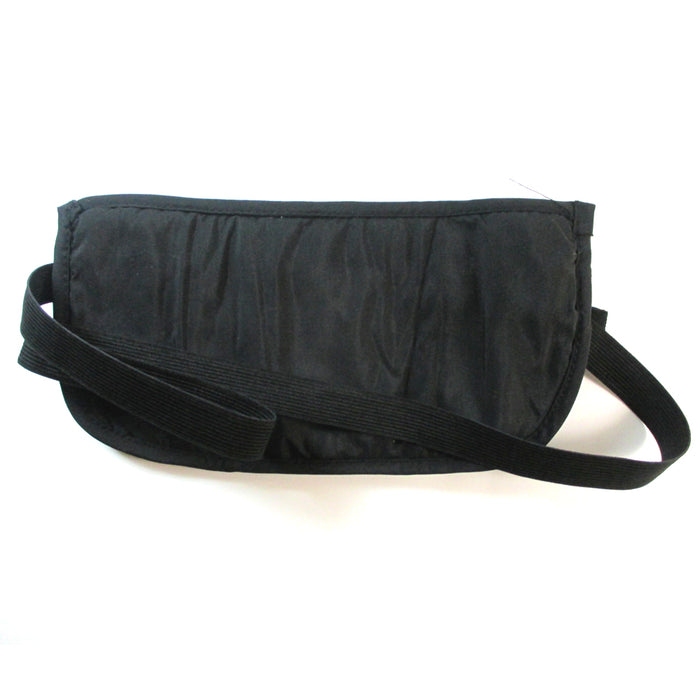 Travel Money Belt RFID Security Wallet Waist Pack Hidden Pocket Safe Pouch Black