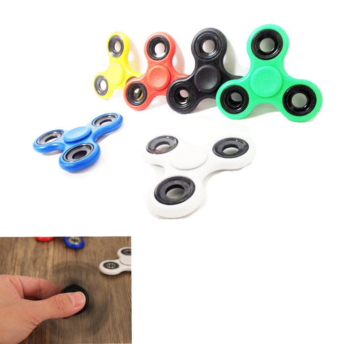 3 Gyro Fidget Spinner Stress Relief Hand Focus Desk Toy Fun ADHD Autism Finger