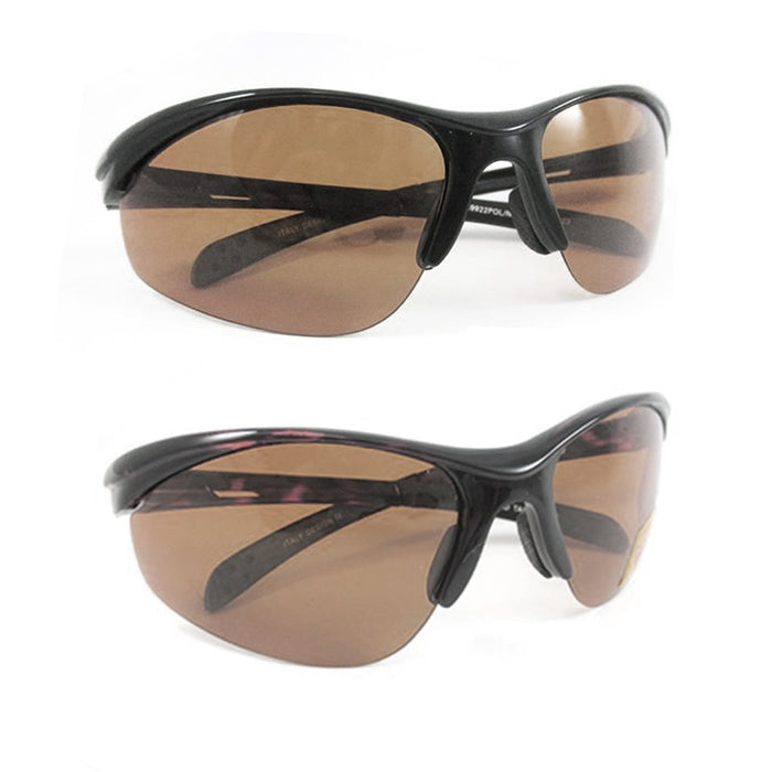 1 Mens Polarized Sunglasses Driving Glasses Night Vision Copper Lens UV Eyewear