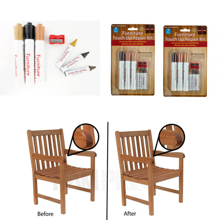 14 Wood Touch Up Scratch Scuff Repair Marker Wooden Floor Furniture Mark Remover