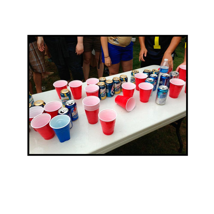 Beer Pong Set Drinking Game Party Cups Balls Drink Indoor Game Fun Beerpong