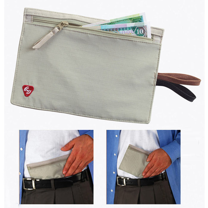 Lewis N Clark RFID Hidden Wallet Money Security Waist Bag Pouch Pocket Secret