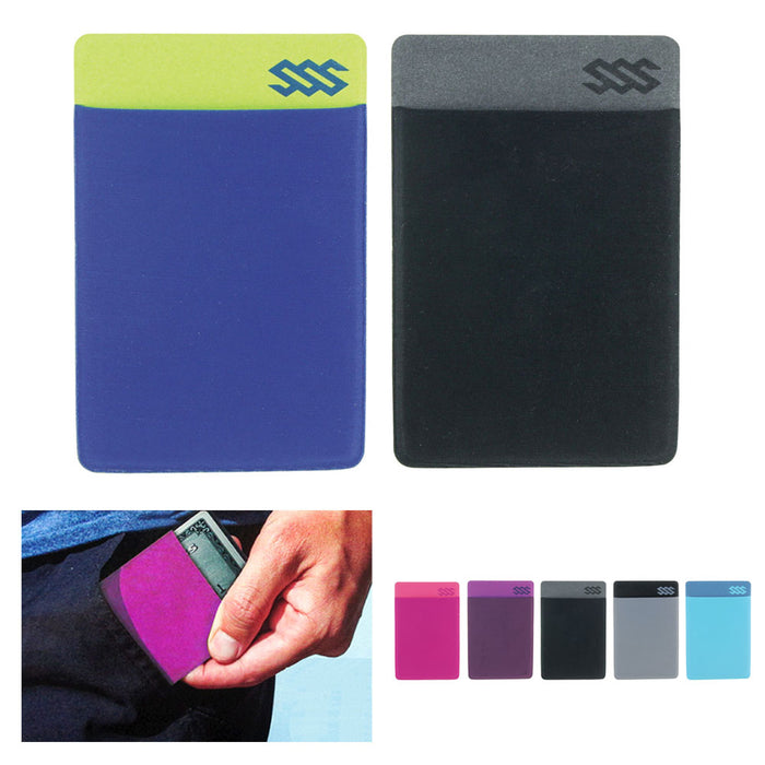 1f72797b3a82 2 Ultra Thin Wallet Sleeve RFID Blocking Credit Card ID Money Holder Slim  Travel
