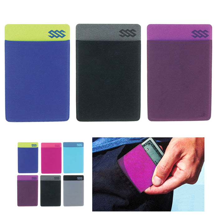 3 RFID Blocking Ultra Thin Wallet Sleeves Credit Card ID Holder Slim Travel Safe