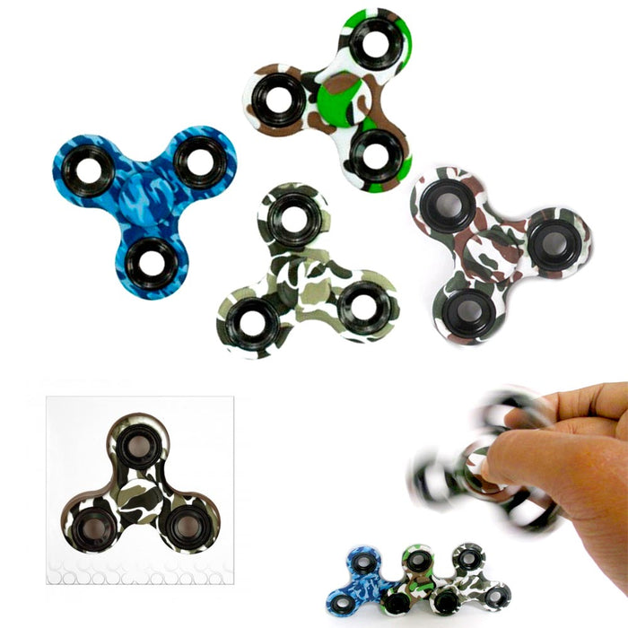 3 Gyro Tri Fidget Hand Spinner Focus Desk Toy EDC ADHD Autism Kids Adults Game