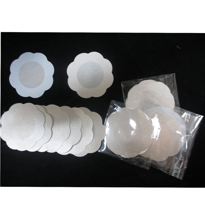 Lot Of 30 Pair Pasties Petal Nipple Self Adhesive Disposable Bra Pads Covers New