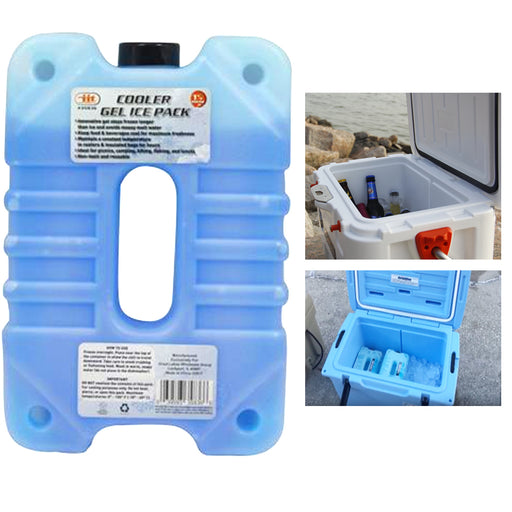 1 Reusable Cooler Ice Pack Gel Freezer Block Freezable Chill Lunch Box Picnic