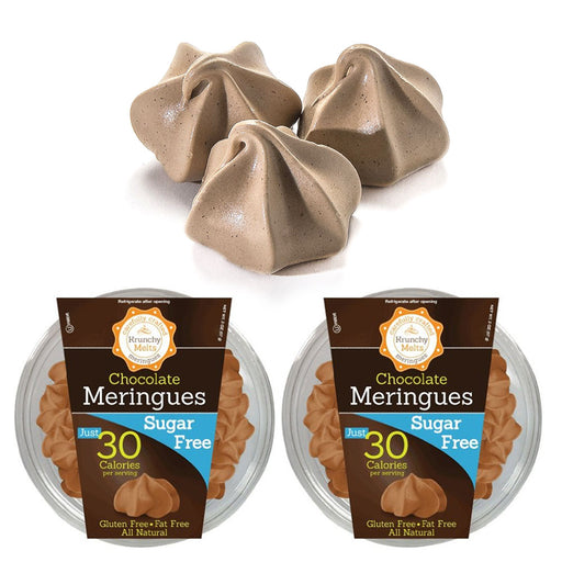2 Boxes Chocolate Meringues Cookies Gluten Fat Sugar Free Kosher Sweets Snacks