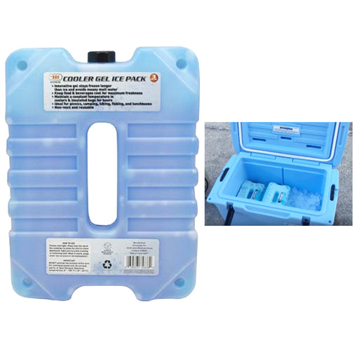 1 Reusable Cooler Ice Pack 3 Pounds Gel Freezer Block Freezable Lunch Box Picnic