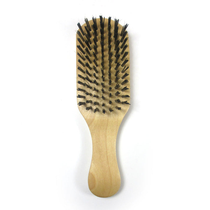 1 Hair Brush Bristle Wave Wood Firm Comb Wooden Reinforced Natural Boar