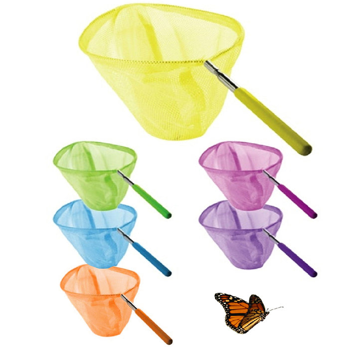 1 Extendable Kids Telescopic Butterfly Net Toy Catching Bugs Insect Fish Gift US