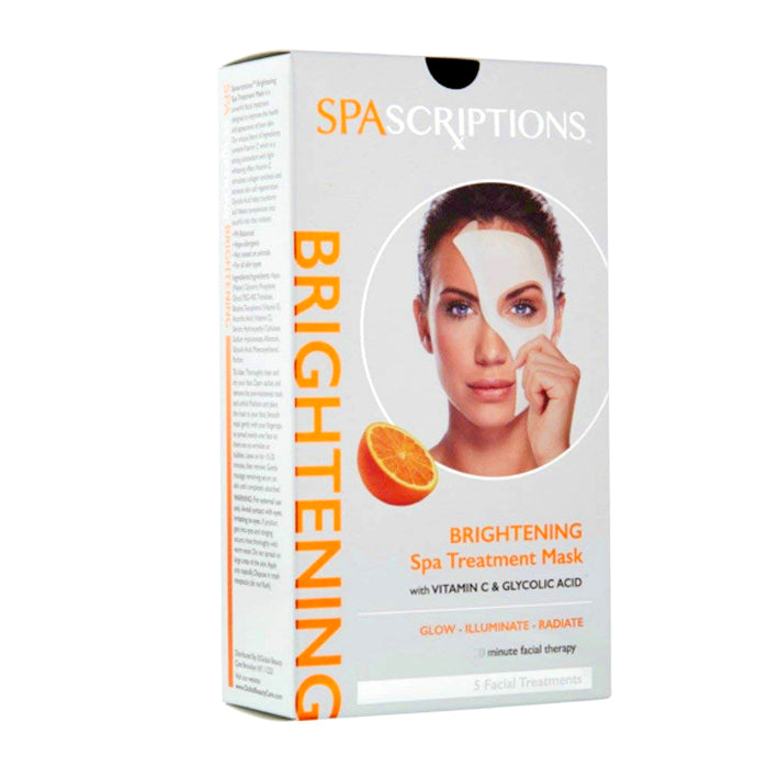 30 Pc Face Brightening Mask Spa Treatment Facial Moist Skin Therapy Vitamin C