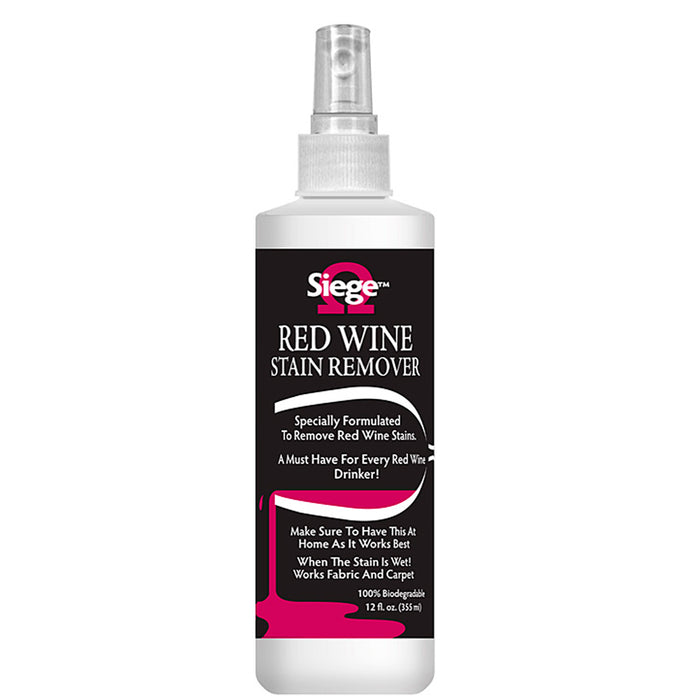 Red Wine Stain Remover 12oz Cleaner Spray Biodegradable No Bleach Clean GREAT!