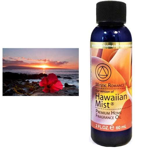 1 Hawaiian Mist Scent Aroma Therapy Oil Home Fragrance Air Diffuser Burner 2 oz