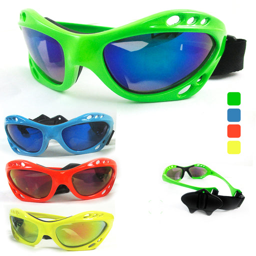 1 Kitesurfing Kiteboarding Men Sunglasses Sport UV400 Fashion Shades Wrap Neon