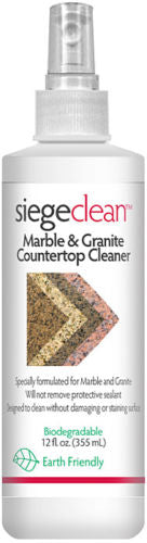 Marble Granite Stone Cleaner Solution 12oz Kitchen Countertop Daily Spray Polish