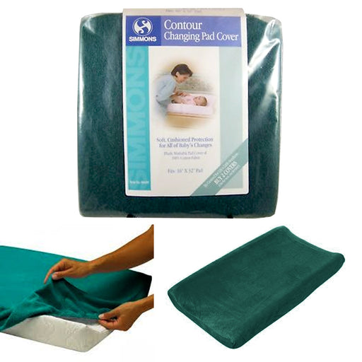 1 Pc Contour Changing Pad Covers Plush 100% Cotton Woven Terry Cloth Contoured