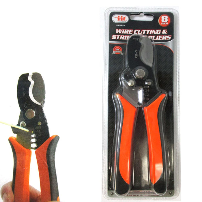 Multifunctional Cable Wire Stripper Cutter Plier Durable Stripping Cutting Tool